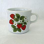 SALE McCoy Strawberry Small Mug