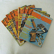 SALE Collection of  Guns & Ammo 1975
