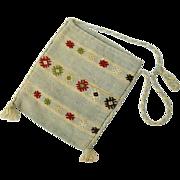Handmade Embroidered Turkish Kilim Handbag