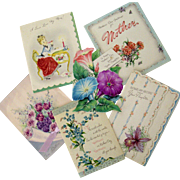 Mothers Day Card Collection Dated 1940