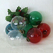 SALE Vintage Ornaments Ready For Artist's Original Holiday Designs