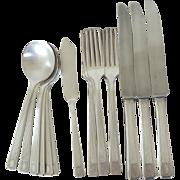 Assorted Oneida Noblesse Pattern Silverware