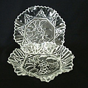 SALE Matching Federal Glass Pioneer Serving Bowls