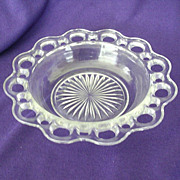 SALE Hocking's Old Colony Or Open Lace Salad Bowl