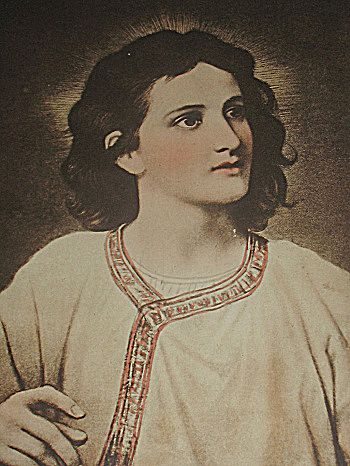 Portrait Of Jesus Christ At 12 Years Old Sepia Religious