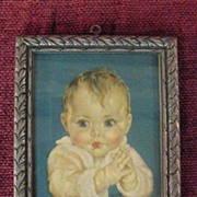 Miniature Baby Print by Charlotte Becker