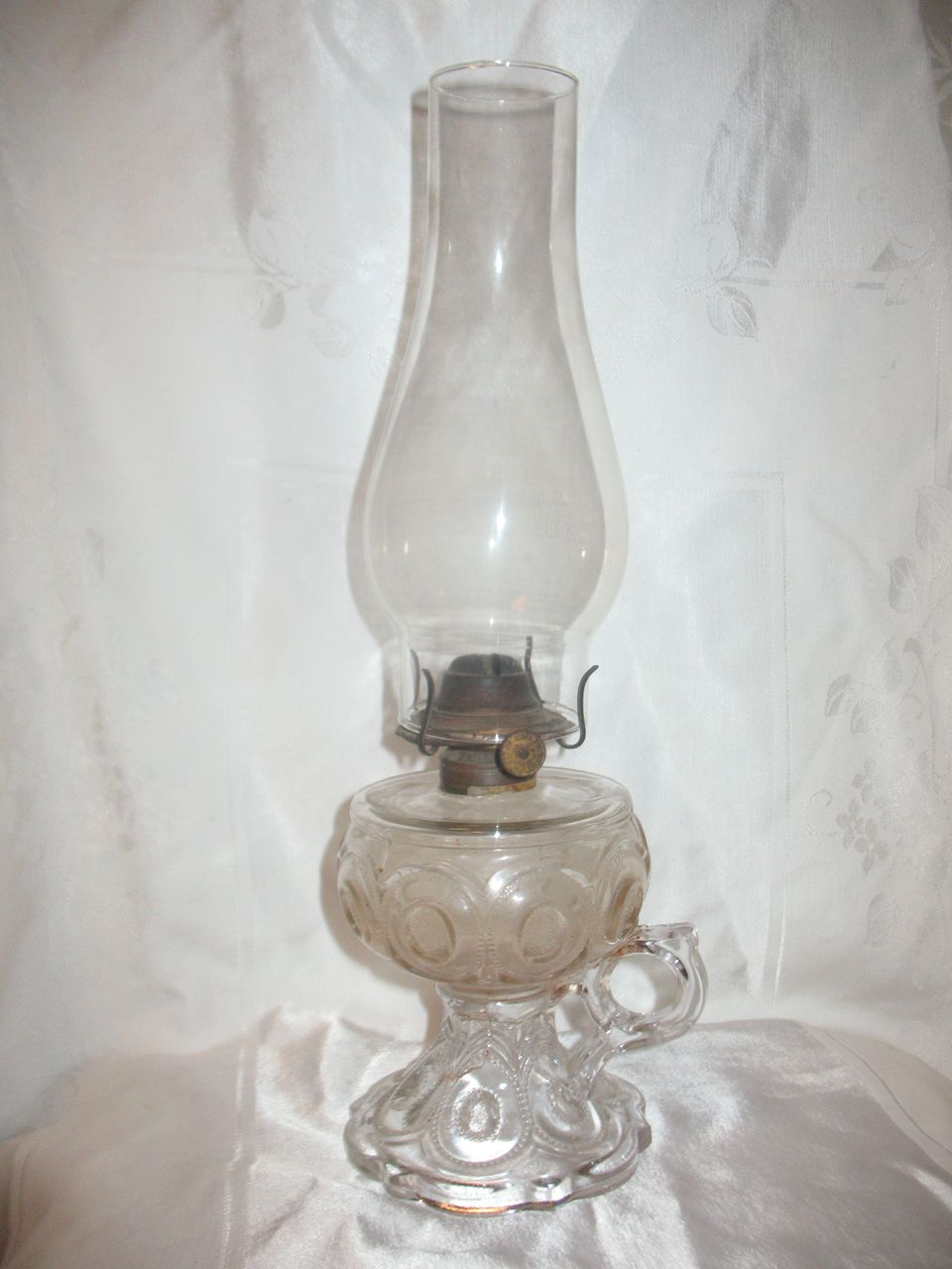 Vintage Glass Oil Lamps 41