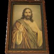 Jesus Print Circa 1920's