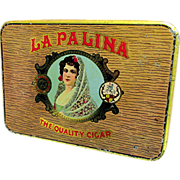 SALE La Palina Cigar Advertising Pocket Tin