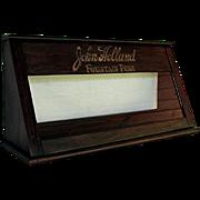 REDUCED John Holland Fountain Pen Advertising Display Case