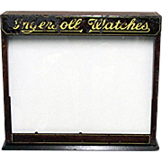 SALE Advertising Ingersoll Watch Display Case