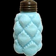 SALE Pineapple Shaker Antique Glass Satin Finish C L & G Co. Circa 1894-98