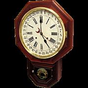 SALE Waterbury Calendar Wall Clock