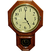 REDUCED Antique Oak Seth Thomas Wall Clock 100% Original and Fully Restored 80 Other Clocks ..