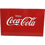 SALE Coca Cola Meal Advertising Sign