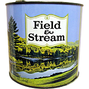 SALE Field and Stream Tobacco Advertising Tin