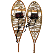 SALE Antique Snowshoes Damage Free Pair