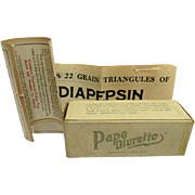 SALE Pape Diuretic Box  from Drugstore or Pharmacy Circa 1909