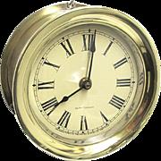 SALE Brass Seth Thomas Ships Clock