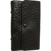 SALE Leather Fly Fishing Wallet by F. H. Pope