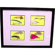 SALE Framed Fly Fishing Flies