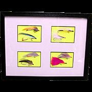 SALE Framed Fly Fishing Flies