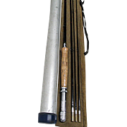 SALE Bamboo Fly Rod Unused 8 Ft. 3/2 with Tube