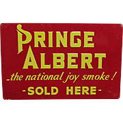 SALE Prince Albert Tobacco Advertising Sign