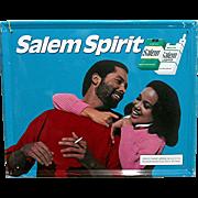 SALE African American Salem Cigarette Advertising Sign