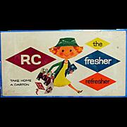 SALE Royal Crown Cola Advertising Sign