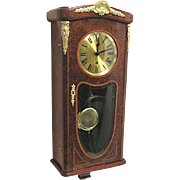SALE French Dual Chime Antique Wall Clock