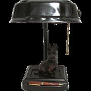 SALE Scottie Dog Metal Desk Lamp