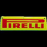 SALE Pirelli Automotive Advertising Sign