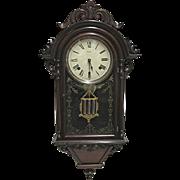 SALE Welch Italian Hanging VP Antique Wall Clock