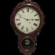 SALE Seth Thomas Walnut Antique Wall Clock