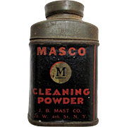 SALE Cleaning Powder MASCO Sample Size
