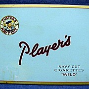 REDUCED Players Cigarette Pocket Advertising Tin