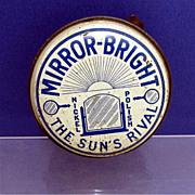 SALE Mirror Bright Polish Tin