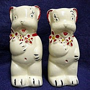 REDUCED Bear Shakers Salt and Pepper Set by American Bisque Co