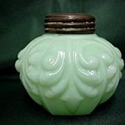 SALE Single Salt Shaker American Glass Circa 1894 - 1902