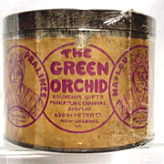 SALE Souvenir Candy Tin from the Green Orchid in New Orleans