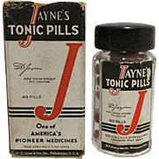 SALE 1930 Drugstore or Pharmacy  Dr. Jayne Tonic Pills