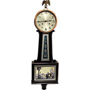 SALE Banjo Clock New Haven Clock Co.