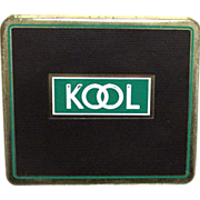 REDUCED KOOL Cigarette Flat  Advertising Tobacco Tin