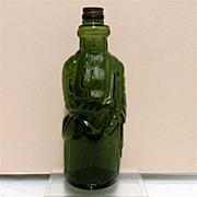 SALE Figural Moses  Bottle