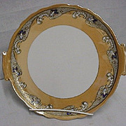 SALE Cake Set Noritake Porcelain Luster Art Nouveau $159