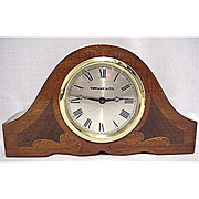 SOLD Inlaid Mantel Clock by Tiffany MINT 50 + % Off