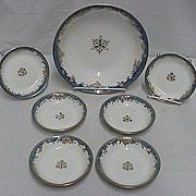 REDUCED Dessert Set Nippon Porcelain Service for 6