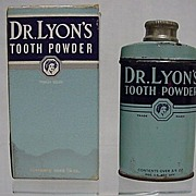 REDUCED Dr. Lyons Tooth Powder in Original Box