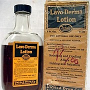 SALE Lavo-Derma Lotion by Rexall Unopened Pharmacy or Drugstore Item